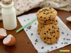 Cookies americani – biscotti con gocce di cioccolato