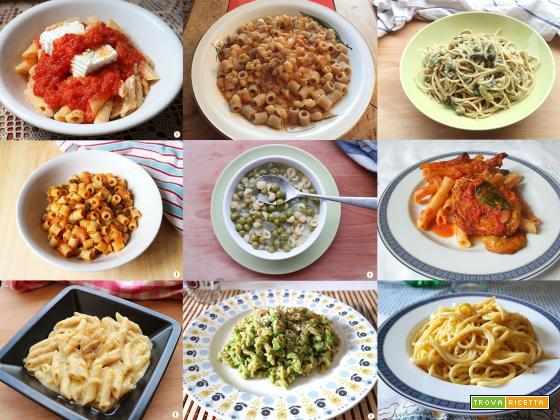 Ricette vegetariane per cucinare la pasta