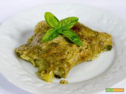 Lasagne vegan al pesto