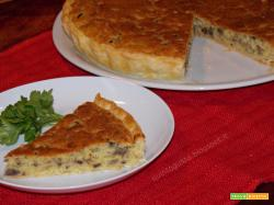 Torta salata ai funghi, by Apriti Sesamo