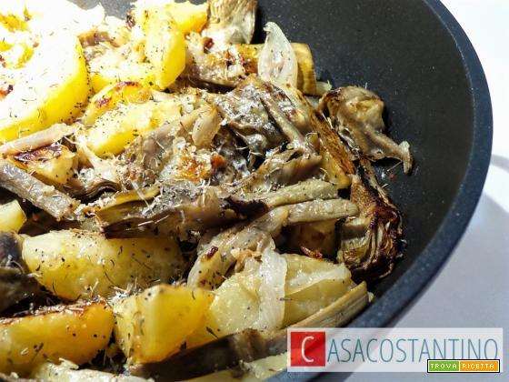 Patate e carciofi in casseruola Crafond