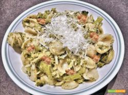 Pasta broccoli e salsiccia