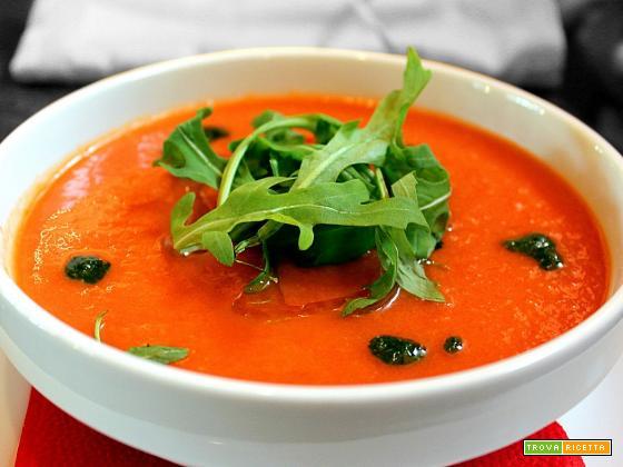 Gazpacho | Ricetta zuppa spagnola