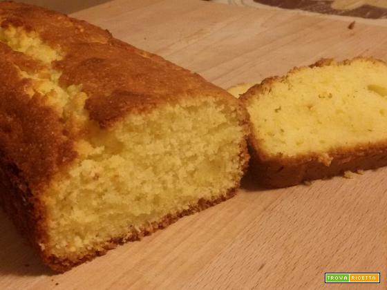 Plumcake cocco e lime