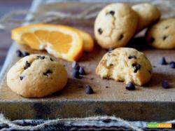 Biscotti all'Arancia e Gocce di Cioccolato