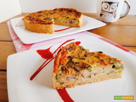 Torta salata di ZUCCHINE e farina di MAIS