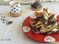 Torciglioni alla nutella e cioccolato di Modica