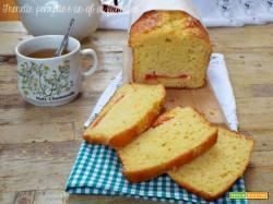 Plumcake con panna acida e arancia