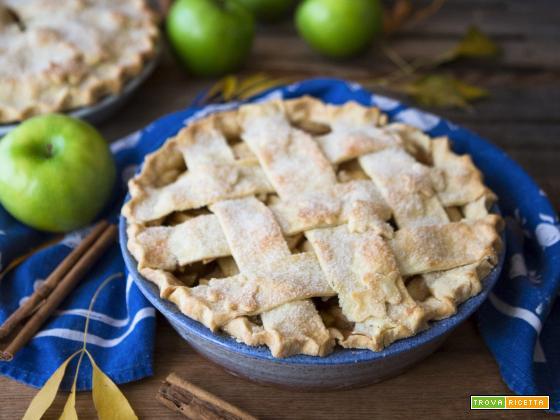 DOLCI – Apple pie | Crostata americana