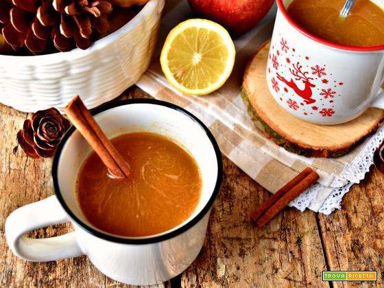 Estratto di zucca mela e cannella, salutare e delizioso