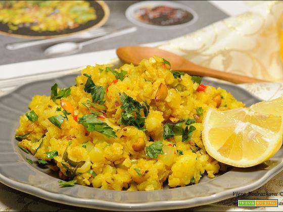 Aloo Poha – colazione ayurvedica con i fiocchi