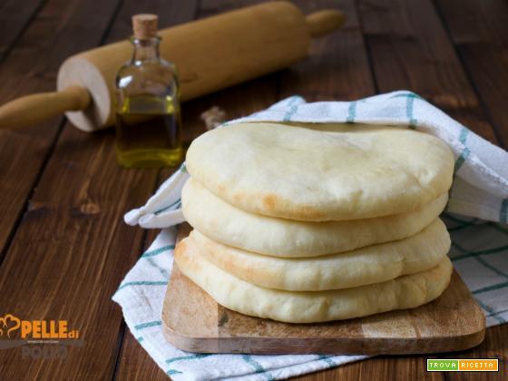 Pane pita o pane arabo fatto in casa