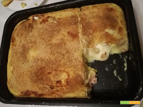 Gateau di patate | Gustosa torta salata