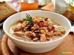 Eddoes, farro e legumi per una fantastica zuppa