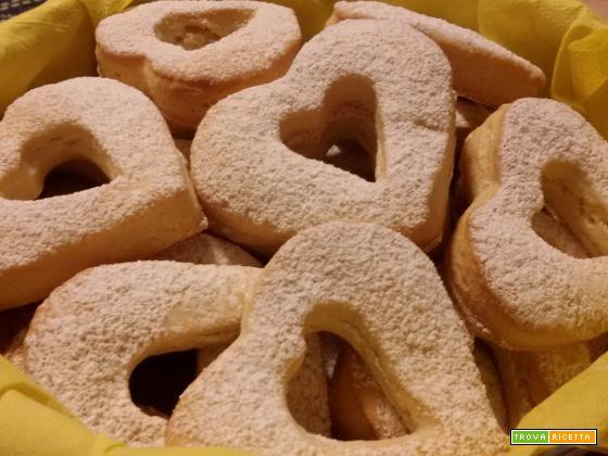Biscotti cuor di panna