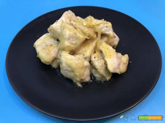 Pollo al limone con Companion Moulinex