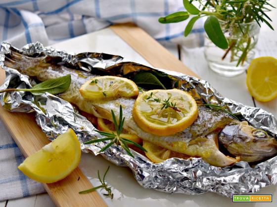 Trota al cartoccio, una ricetta gustosa e delicata