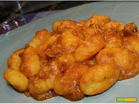 Gnocchi di patate senza glutine filanti