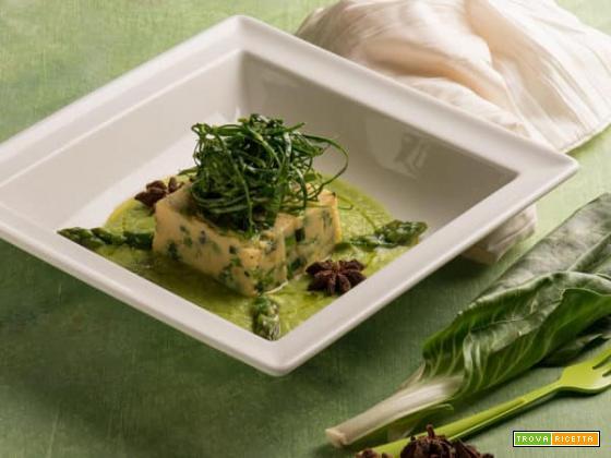 Un ottimo piatto di cous cous con ceci, lenticchie rosse e verdure miste