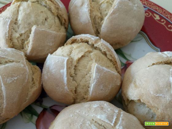 Pane fatto in casa   Ricetta CuCo
