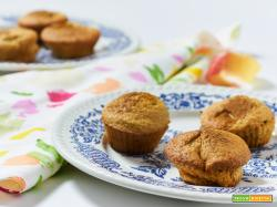 muffin con mela e arancia