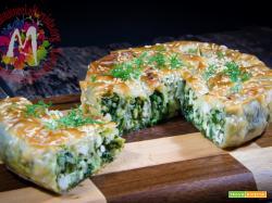 Spanakopita Greca di pasta fillo con Riso, spinaci e feta – I Menù del SorRISO