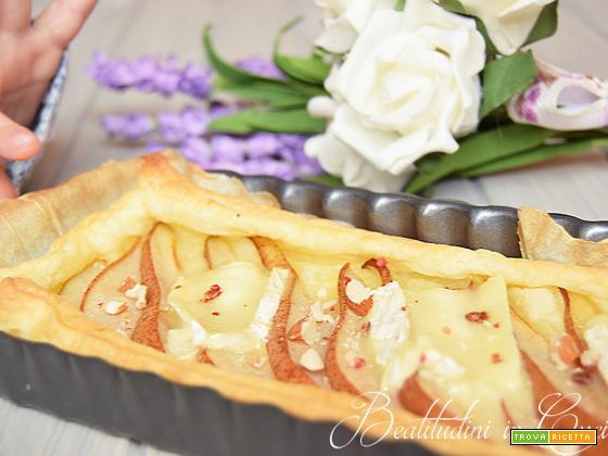 Torta salata pere e camembert seguilestagioni