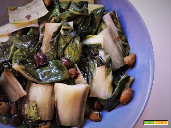 Coste con olive taggiasche