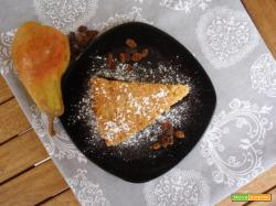 Torta ghiotta alle pere
