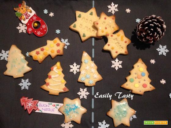 Biscotti di Natale alla frolla