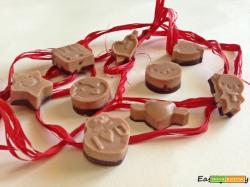 Cioccolatini bicolore alla Nutella