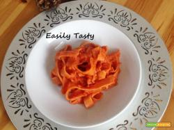 Pasta fresca con rag di carote