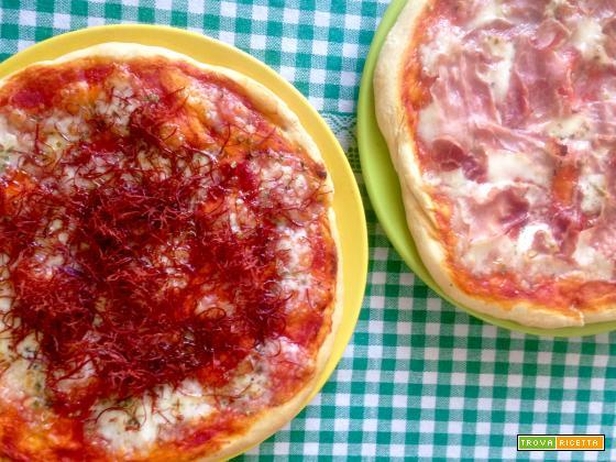 Pizza lievitata 24 ore Easily Tasty - Ricetta prodotti da forno salati