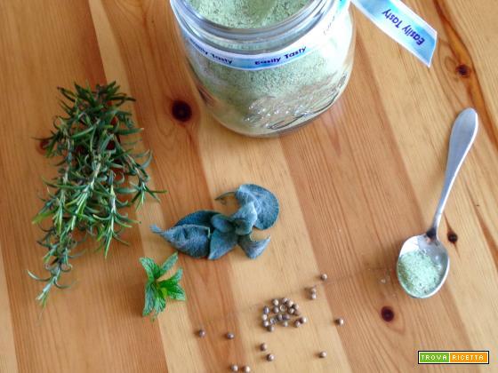 Sale aromatizzato alle erbe