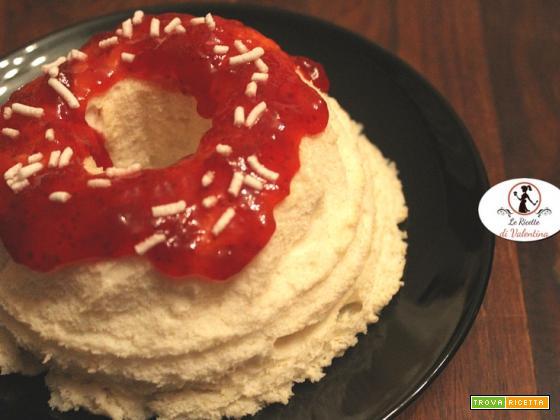 Angel cake in pentola a pressione elettrica per celebrare tutte le donne! Buon 8 marzo!