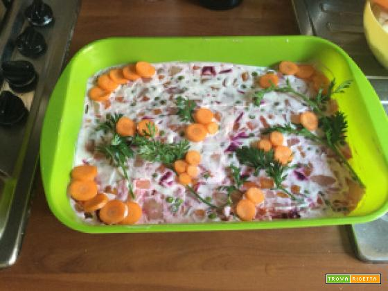 insalata russa Vegan – con MAIONESE vegan – con rapa rossa