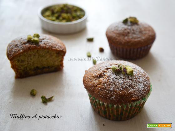 Muffins al pistacchio di Bronte golosi