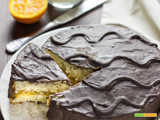 Torta Fiesta Ricetta: arancia e cioccolato