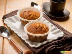 Muffin alle nocciole, piccoli dolci che allietano la colazione o la merenda