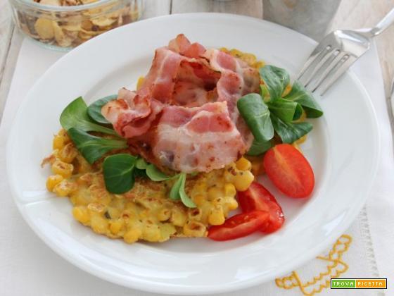 Frittelle di mais con pancetta: una ricetta super-saporita!