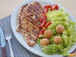 Petto di pollo alla griglia o alla piastra