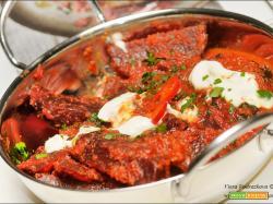 Curry di barbabietola rossa a modo mio