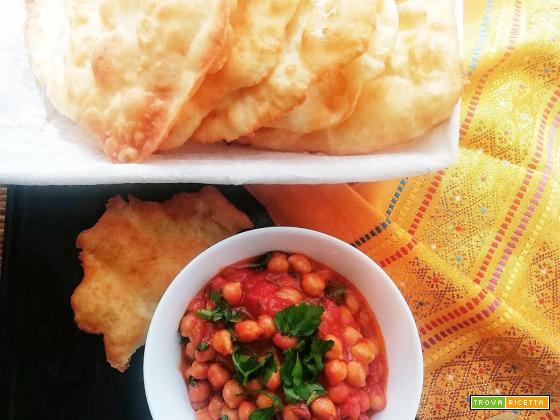 Chole Bathure, il perfetto piatto veg, e famolo strano!