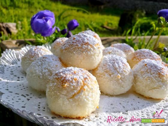 Biscotti al Cocco Facili e Veloci