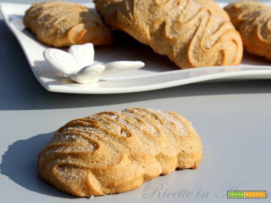 Biscotti morbidi all'olio con farina di Farro