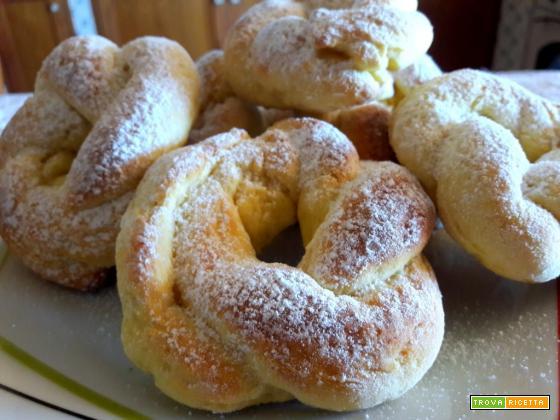 Biscotti morbidi da inzuppo con ricotta e limone