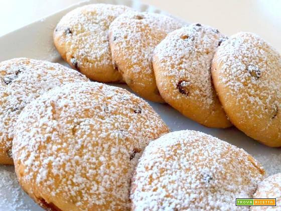 Biscotti light di ricotta e miele ... senza grassi!