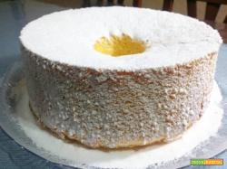 Chiffon cake alta e soffice come una nuvola!