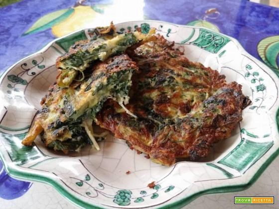 Frittelle di spinaci, secondo piatto facile e sfizioso!