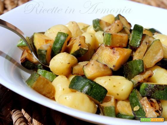 Gnocchi light alle Zucchine solo 250 cal a porzione!
